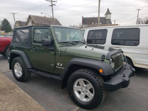 2008 Jeep Wrangler for sale at COLONIAL AUTO SALES in North Lima OH