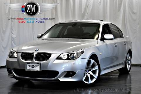 2005 BMW 5 Series for sale at ZONE MOTORS in Addison IL
