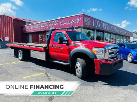 2014 Ford F-550 Super Duty for sale at LUXURY IMPORTS AUTO SALES INC in North Branch MN