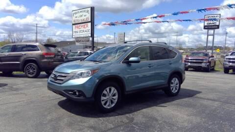 2013 Honda CR-V for sale at Premier Auto Sales Inc. in Big Rapids MI