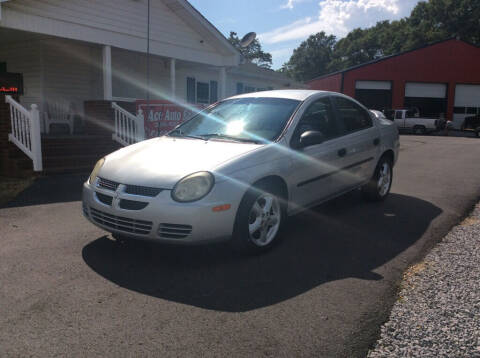 2003 Dodge Neon for sale at Ace Auto Sales - $800 DOWN PAYMENTS in Fyffe AL