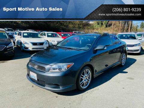 2005 Scion tC for sale at Sport Motive Auto Sales in Seattle WA