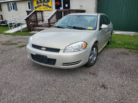 2009 Chevrolet Impala for sale at ASAP AUTO SALES in Muskegon MI