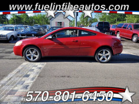 2006 Pontiac G6 for sale at FUELIN FINE AUTO SALES INC in Saylorsburg PA