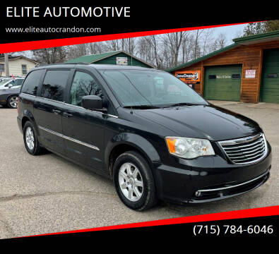 2011 Chrysler Town and Country for sale at ELITE AUTOMOTIVE in Crandon WI