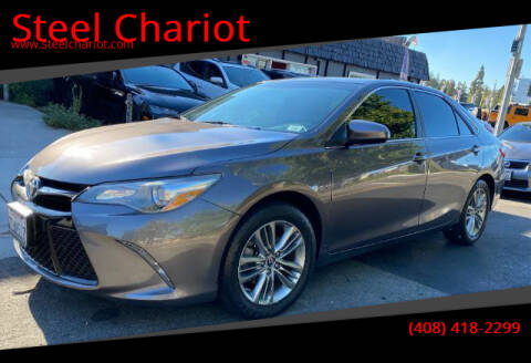 2015 Toyota Camry for sale at Steel Chariot in San Jose CA