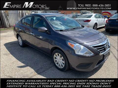 2015 Nissan Versa for sale at Empire Motors LTD in Cleveland OH