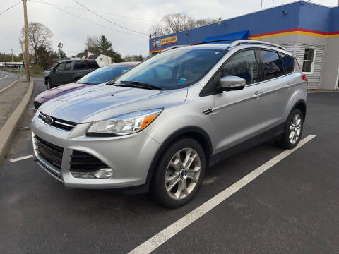 2016 Ford Escape for sale at Delafield Motors in Glenville NY