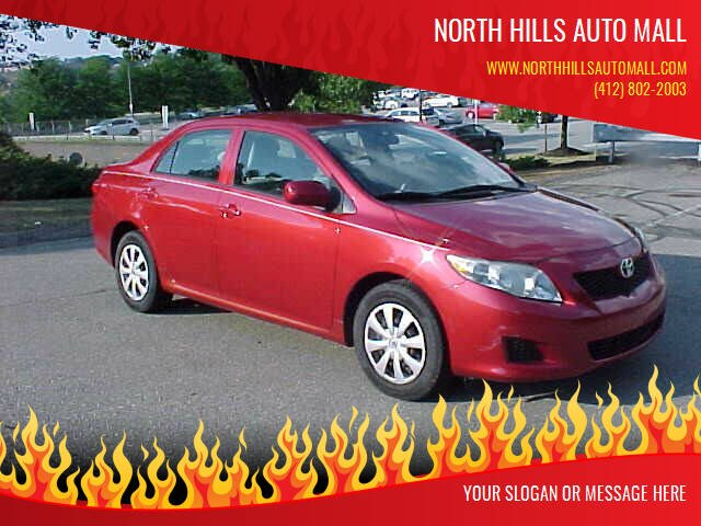 2009 Toyota Corolla for sale at North Hills Auto Mall in Pittsburgh PA