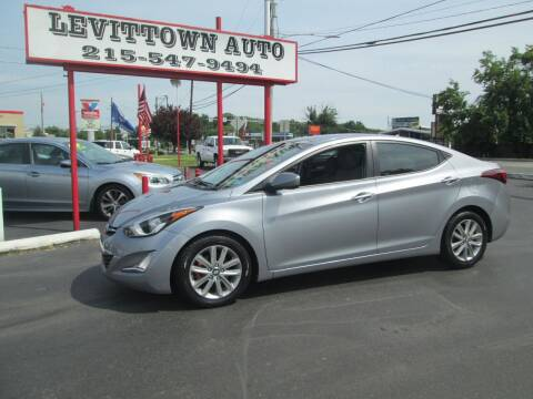 2016 Hyundai Elantra for sale at Levittown Auto in Levittown PA