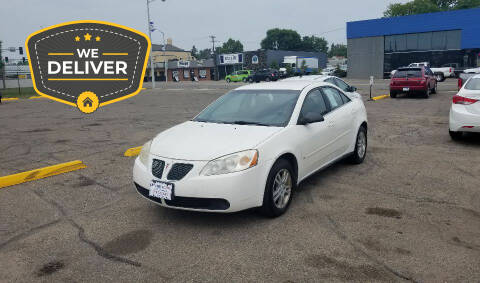 2006 Pontiac G6 for sale at Tower Motors in Brainerd MN