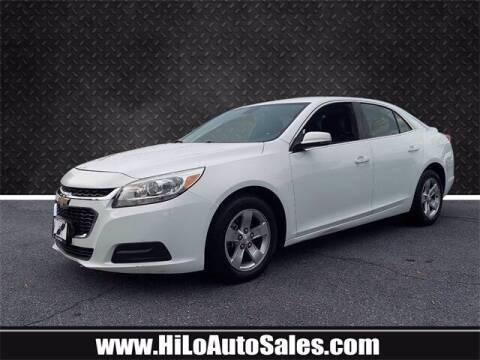 2016 Chevrolet Malibu Limited for sale at Hi-Lo Auto Sales in Frederick MD