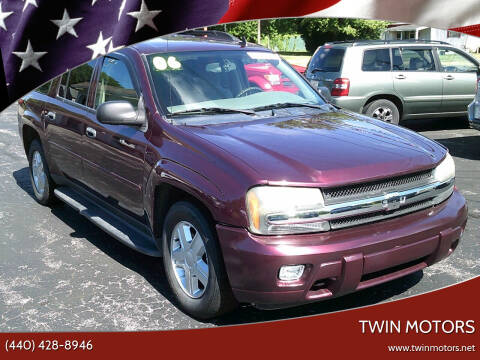 2006 Chevrolet TrailBlazer EXT for sale at TWIN MOTORS in Madison OH