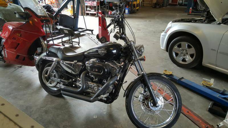 2005 HARLEY DAV XL1200C for sale at Best 4 Less Auto Center in Opelika AL