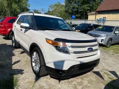 2013 Ford Explorer for sale at C & M Auto Sales in Detroit MI