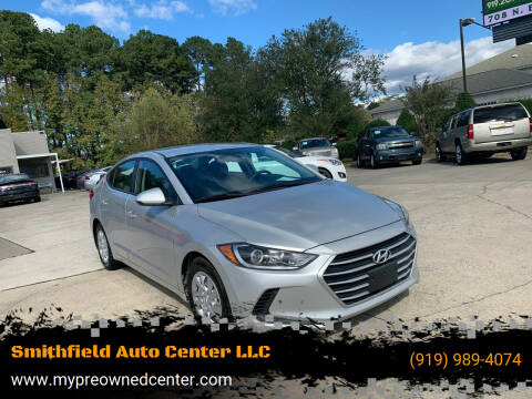 2017 Hyundai Elantra for sale at Smithfield Auto Center LLC in Smithfield NC