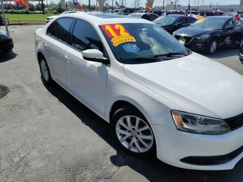 2012 Volkswagen Jetta for sale at Texas 1 Auto Finance in Kemah TX