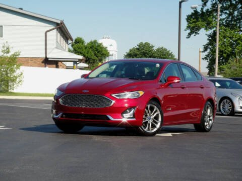 2019 Ford Fusion Hybrid for sale at Jack Schmitt Chevrolet Wood River in Wood River IL