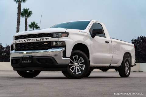 2019 Chevrolet Silverado 1500 for sale at Euro Auto Sales in Santa Clara CA