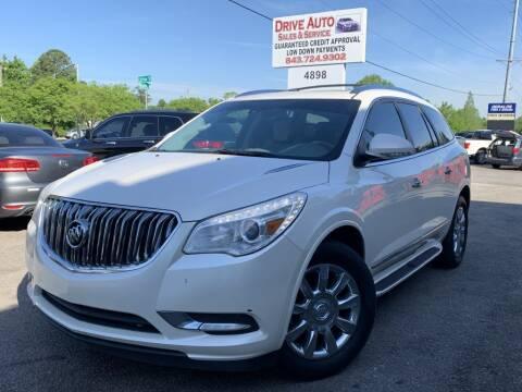 2015 Buick Enclave for sale at Drive Auto Sales & Service, LLC. in North Charleston SC