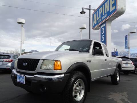 2002 Ford Ranger for sale at Alpine Auto Sales in Salt Lake City UT