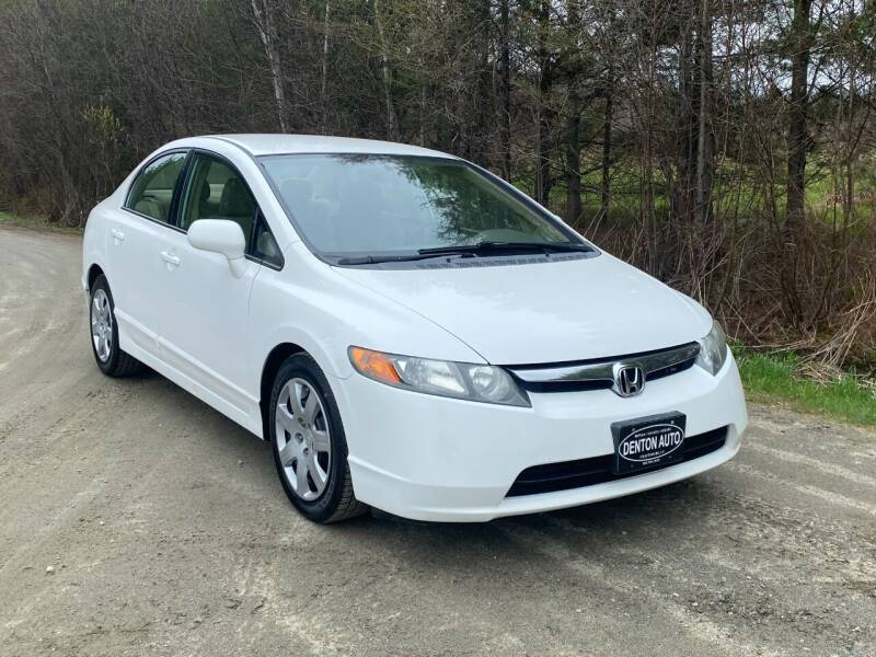 2008 Honda Civic for sale at Denton Auto Inc in Craftsbury VT