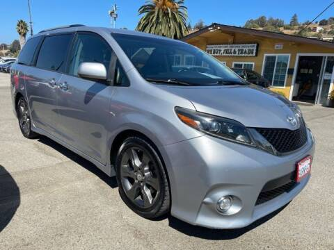 2015 Toyota Sienna for sale at MISSION AUTOS in Hayward CA