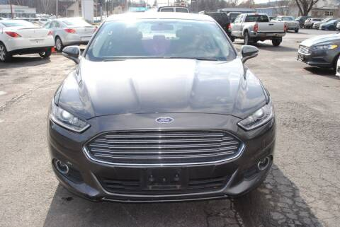 2016 Ford Fusion for sale at Susquehanna Auto in Oneonta NY