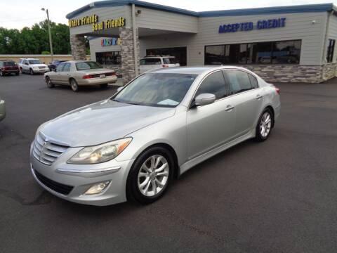 2012 Hyundai Genesis for sale at KARS R US of Spartanburg LLC in Spartanburg SC