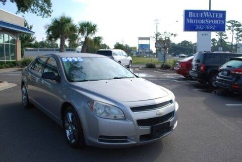 2008 Chevrolet Malibu for sale at BlueWater MotorSports in Wilmington NC
