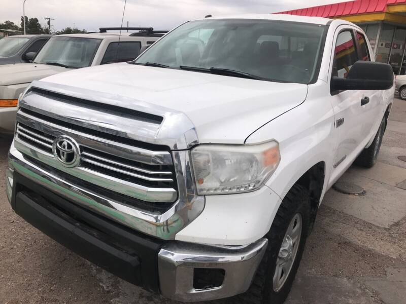 2017 Toyota Tundra for sale at Fiesta Motors Inc in Las Cruces NM