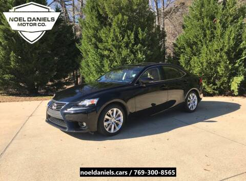 2016 Lexus IS 200t for sale at Noel Daniels Motor Company in Brandon MS