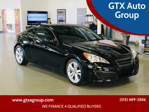 2012 Hyundai Genesis Coupe for sale at GTX Auto Group in West Chester OH