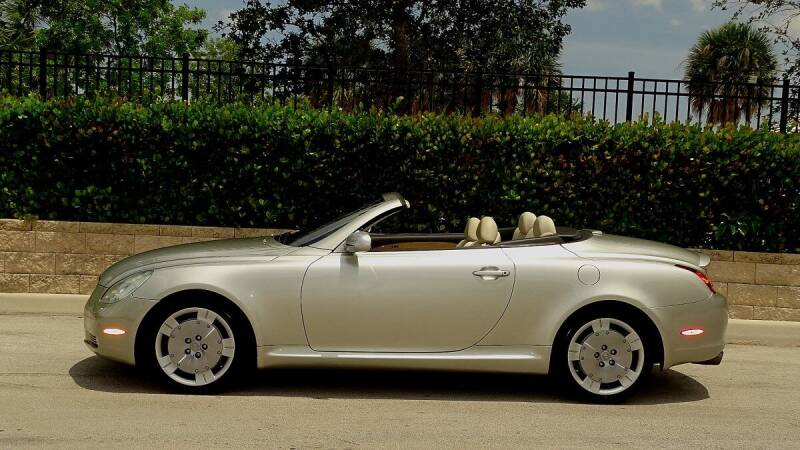 2002 Lexus SC 430 for sale at Premier Luxury Cars in Oakland Park FL