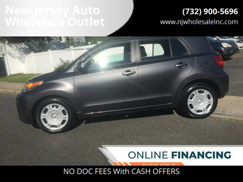 2010 Scion xD for sale at New Jersey Auto Wholesale Outlet in Union Beach NJ