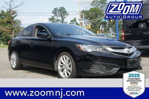 2018 Acura ILX for sale at Zoom Auto Group in Parsippany NJ