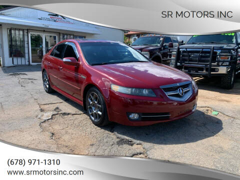 2007 Acura TL for sale at SR Motors Inc in Gainesville GA