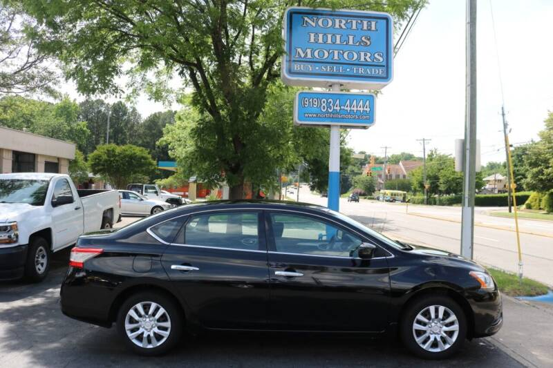 2014 Nissan Sentra for sale at North Hills Motors in Raleigh NC