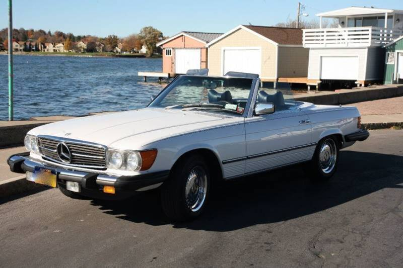 1978 Mercedes-Benz SL-Class for sale at Great Lakes Classic Cars & Detail Shop in Hilton NY