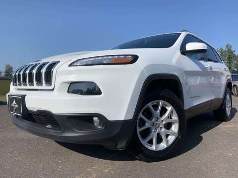 2014 Jeep Cherokee for sale at Autobahn Sales And Service LLC in Hermantown MN