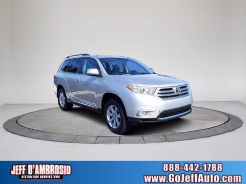 2012 Toyota Highlander for sale at Jeff D'Ambrosio Auto Group in Downingtown PA