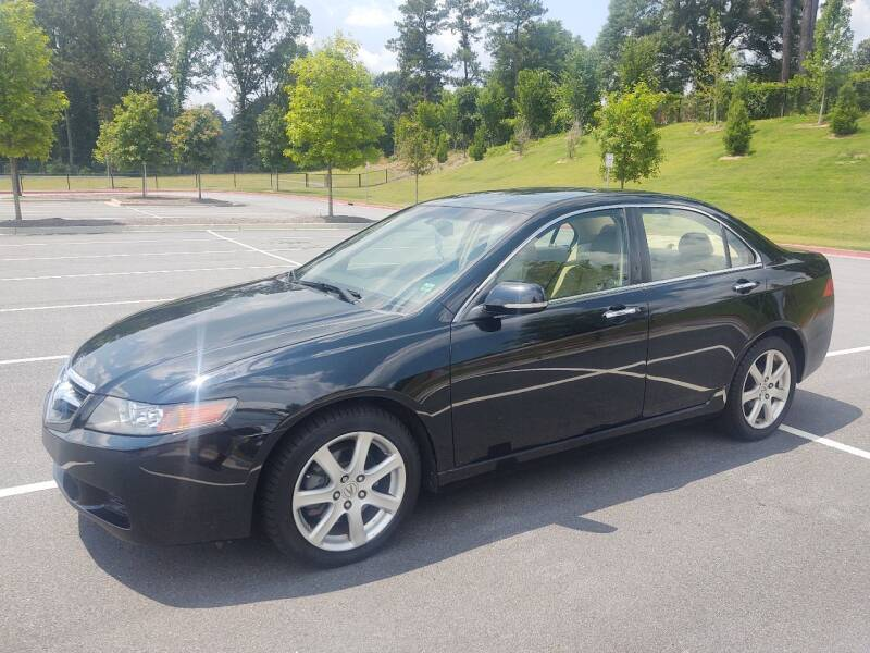 2005 Acura TSX for sale at WIGGLES AUTO SALES INC in Mableton GA