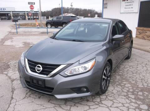 2018 Nissan Altima for sale at AUTO TOPIC in Gainesville TX