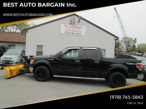 2013 Ford F-150 for sale at BEST AUTO BARGAIN inc. in Lowell MA