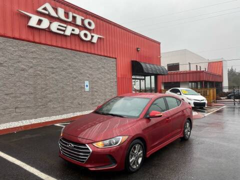2017 Hyundai Elantra for sale at Auto Depot - Nashville in Nashville TN