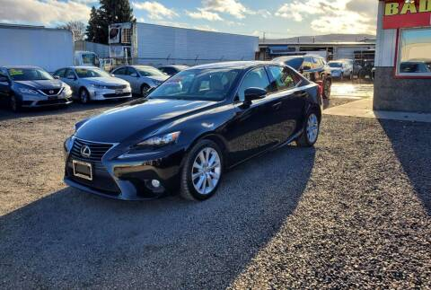 2014 Lexus IS 250 for sale at Yaktown Motors in Union Gap WA
