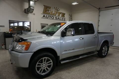 2015 Nissan Titan for sale at Elite Auto Sales in Idaho Falls ID