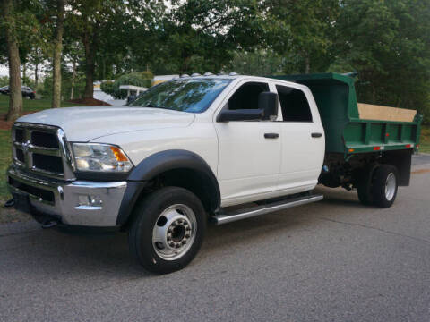 2018 RAM Ram Chassis 5500 for sale at CLASSIC AUTO SALES in Holliston MA