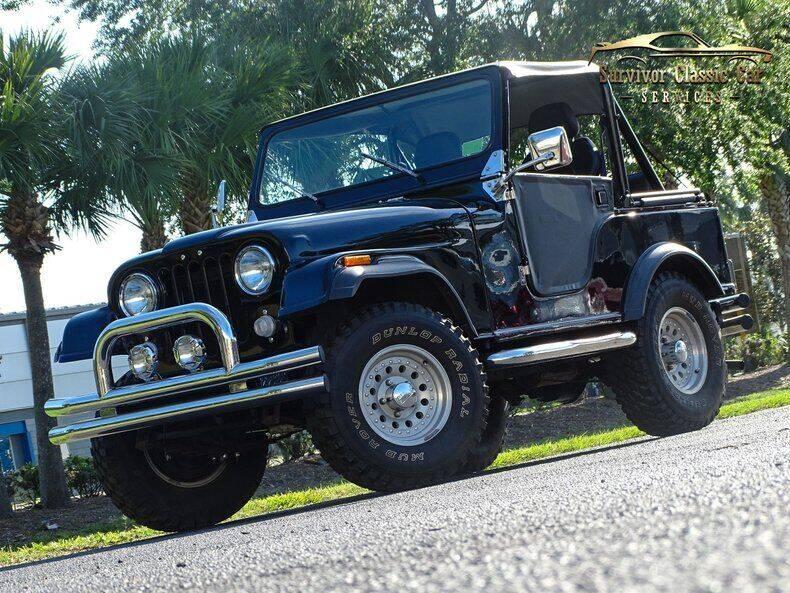 1978 Jeep CJ-5 for sale at SURVIVOR CLASSIC CAR SERVICES in Palmetto FL