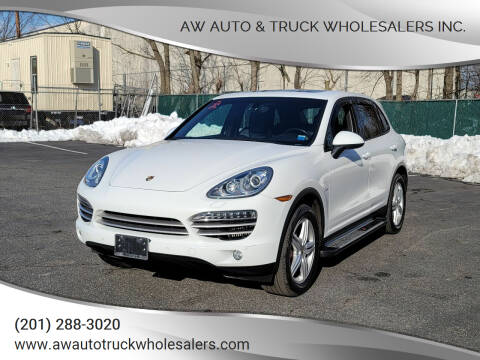 2014 Porsche Cayenne for sale at AW Auto & Truck Wholesalers  Inc. in Hasbrouck Heights NJ
